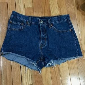 Levi's Shorts - 501 Levi Shorts Blue Size W28, Like New